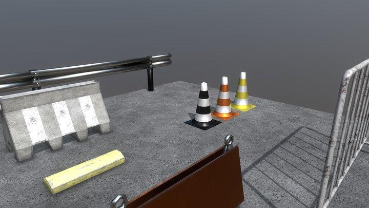 Transit Assets 3D Model
