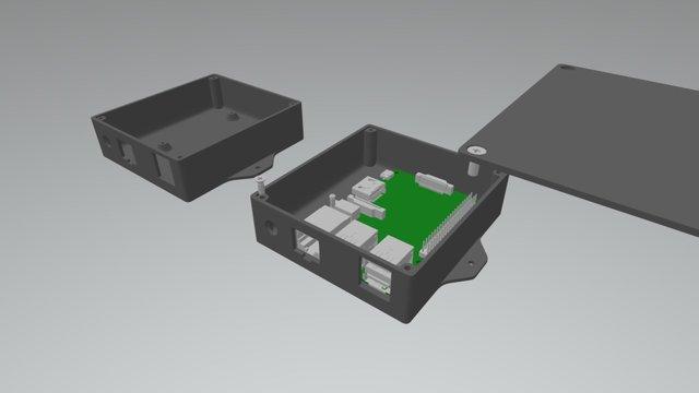 RP2Case VersionA 3D Model