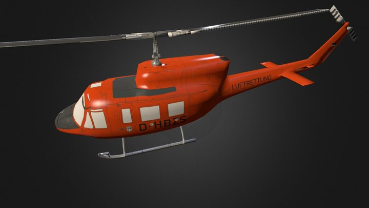 Bell Helikopter 3D Model