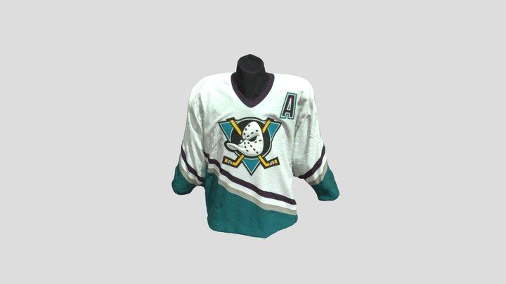 Teemu Selänne's Hockey Shirt 3D Model