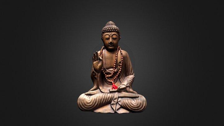 Bouddha - Vitarka Mudra gesture 3D Model