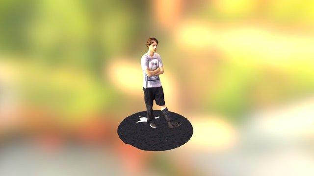 Eamon Burke 3D Model