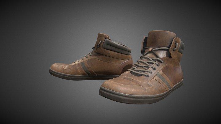 Leather Shoes #ShoesTexturingChallenge 3D Model