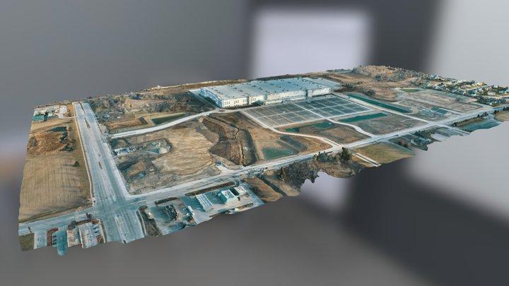 Amazon Oak Creek - Ryan Road/S13th St. 3D Model