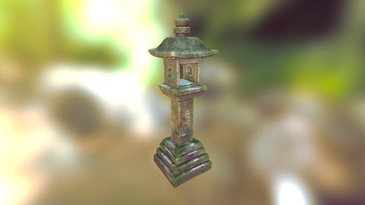 Shrine Lantern 3D Model