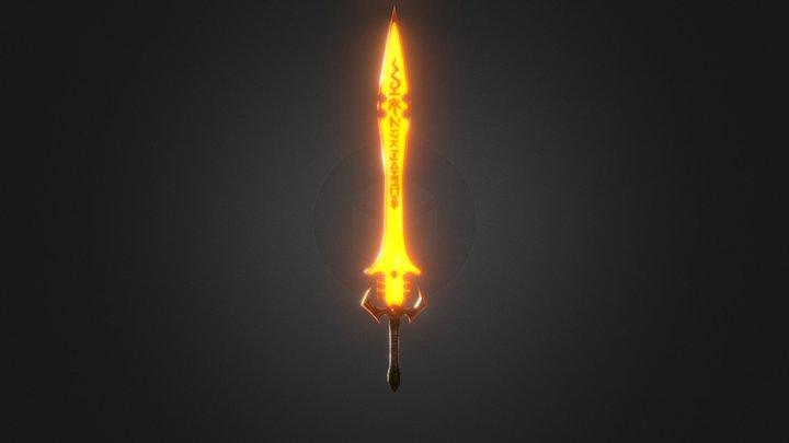 Sword of Khaine Warhammer 40k 3D Model