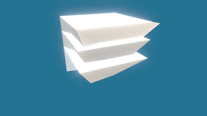 Strange shape in 3D 3D Model