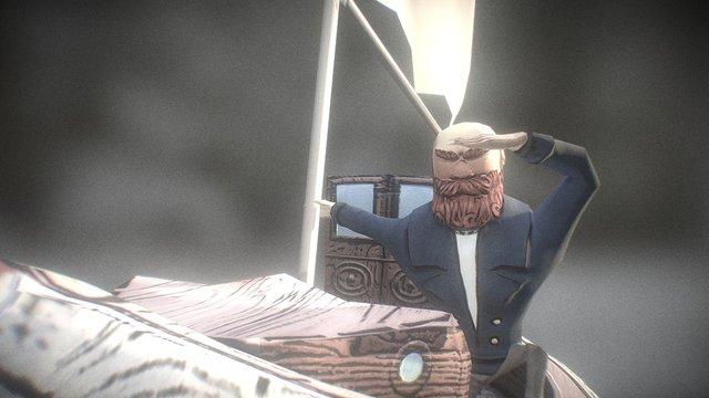 Capitão 3D Model