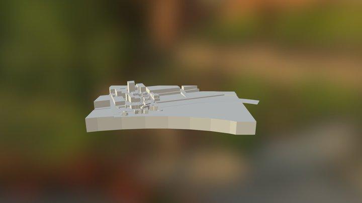 Fed Square & Hosier Lane 3D Model