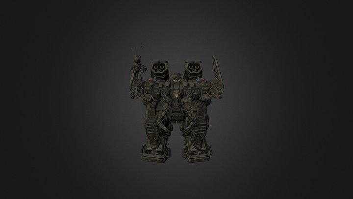 police mech 3D Model