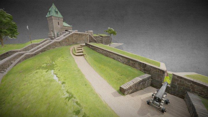 Porte Kent, Québec City, CA 3D Model
