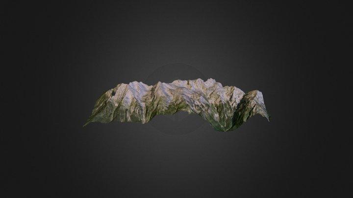 Kamnik Alps 3D Model
