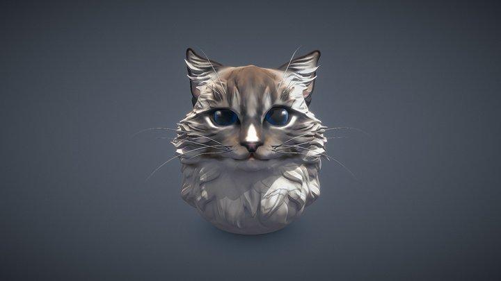 Imagine cat 3D Model