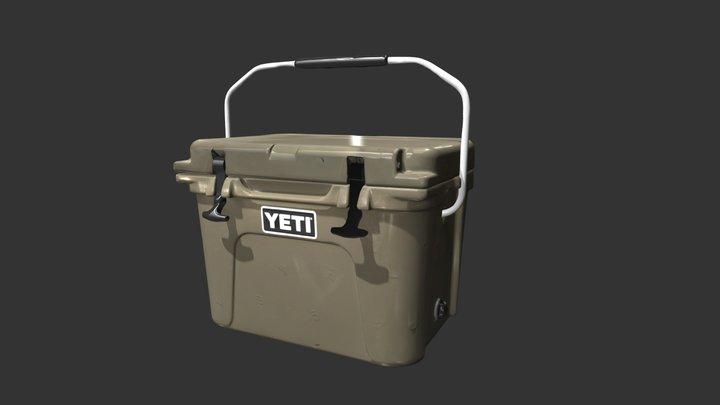 Yeti Cooler 3D Model