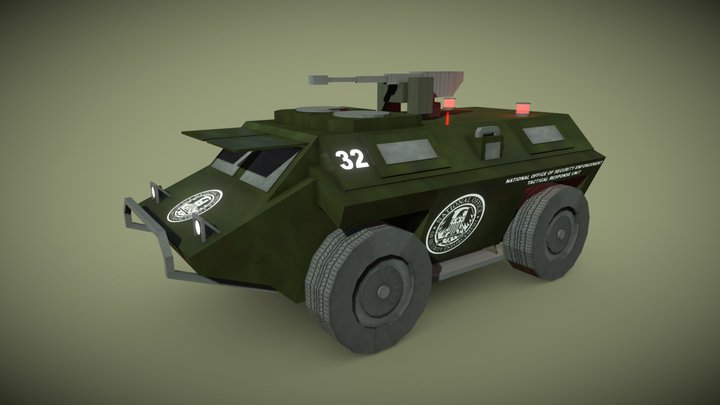 GTA IV Armored Personnel Carrier