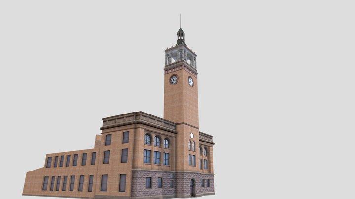 Milwaukee Road Depot 3D Model