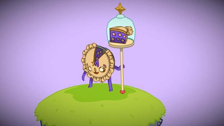 Cutie Pie 3D Model