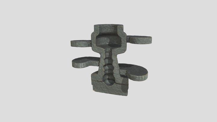Model For A Press Mould 3D Model