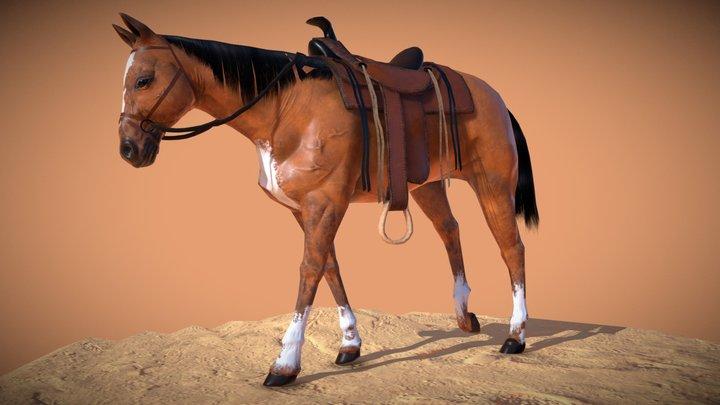 Horse Animation 3D Model