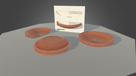 Ceramica Bizantina Siglo VI (León) 3D Model