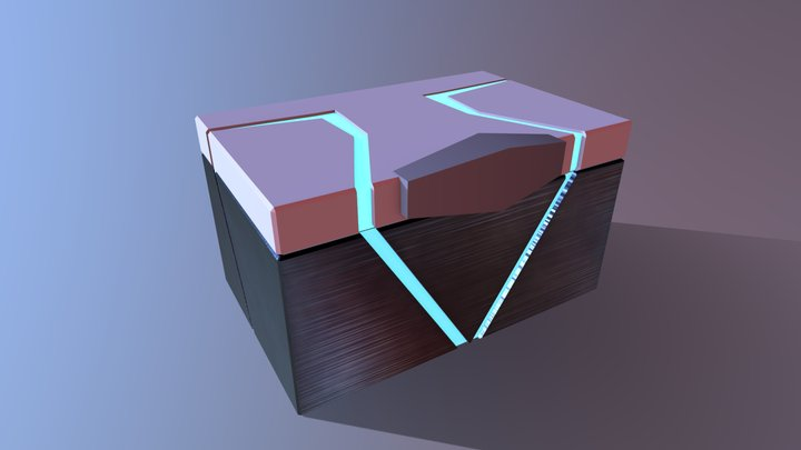 Game Ready Container 3D Model
