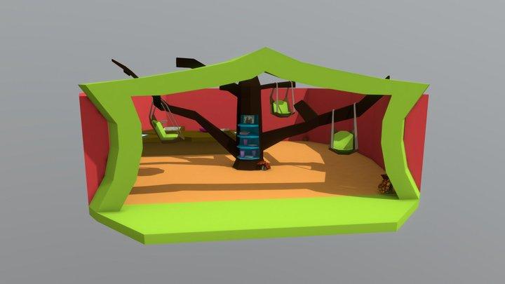 Sloth Restaurant 3D Model