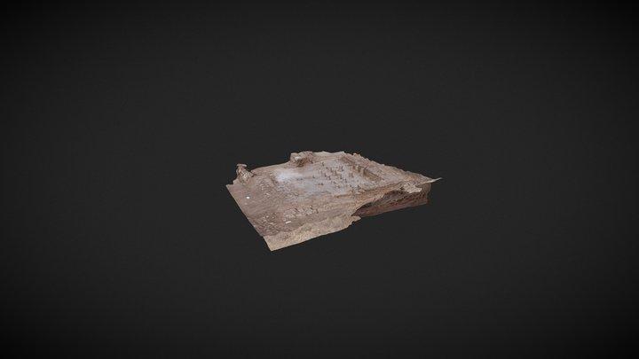 Hypocaustum B1 Camesa-La Cueva 3D Model