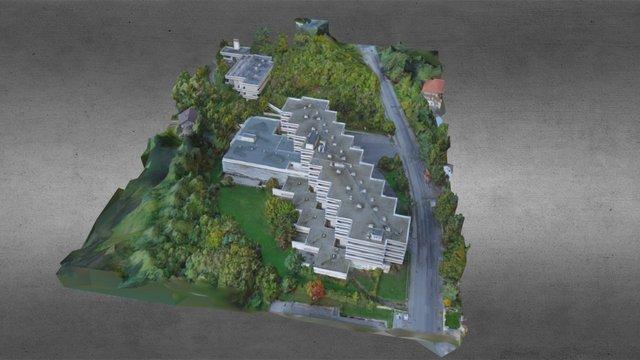 Abandoned building 3D Model