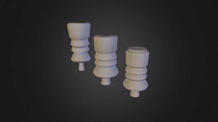 בקבוקים  3D Model