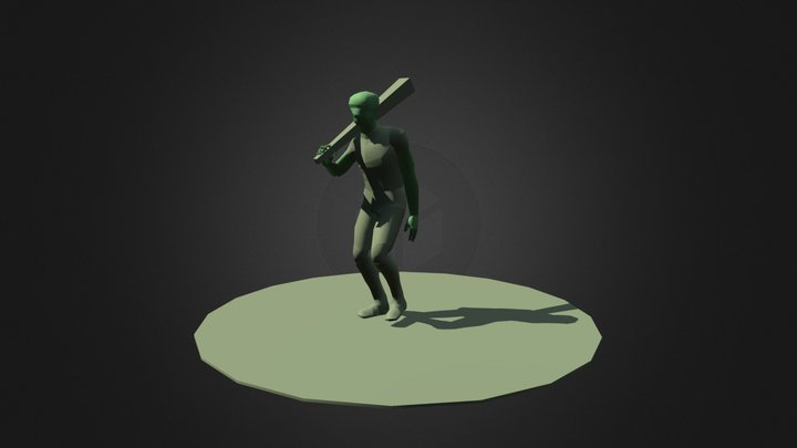 Project and Portfolio 5 Walk Cycle. 3D Model