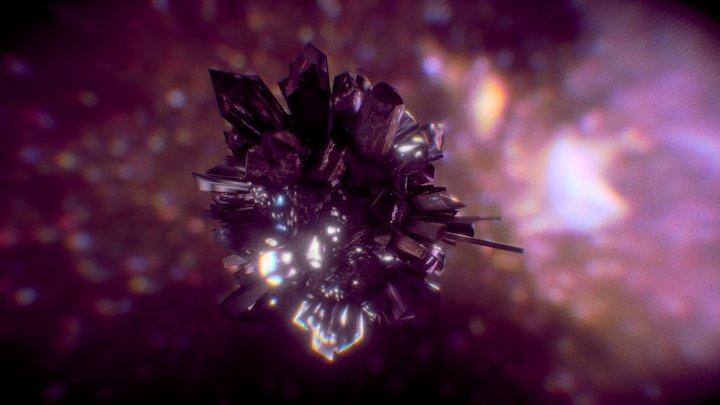 Cristal Rock 3D Model