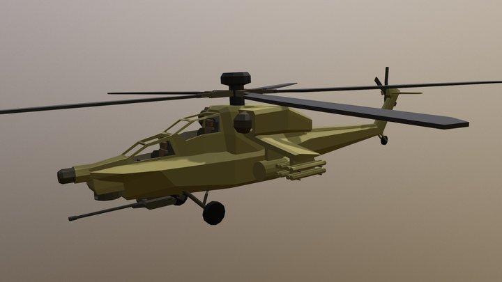 Mi-28 Havoc 3D Model
