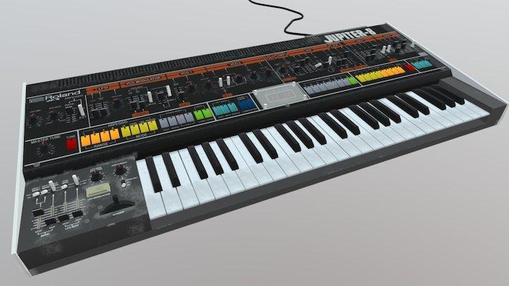 Roland Jupiter-8 3D Model