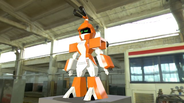 Metabee Medabot 3D Model