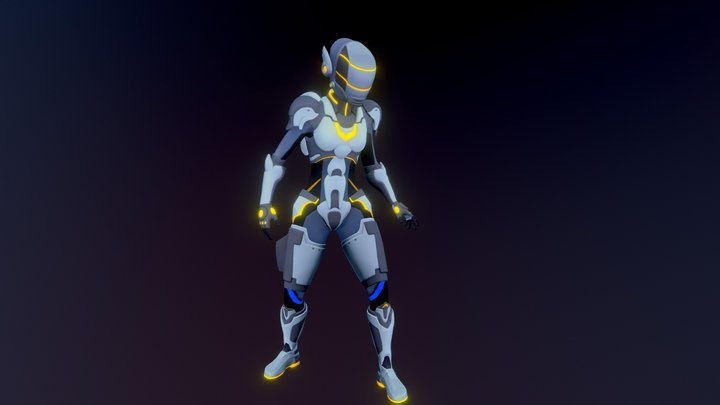 Sofia Armor 3D Model
