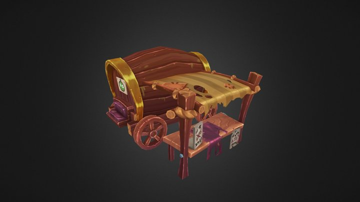 Fruitimal Wagon 3D Model