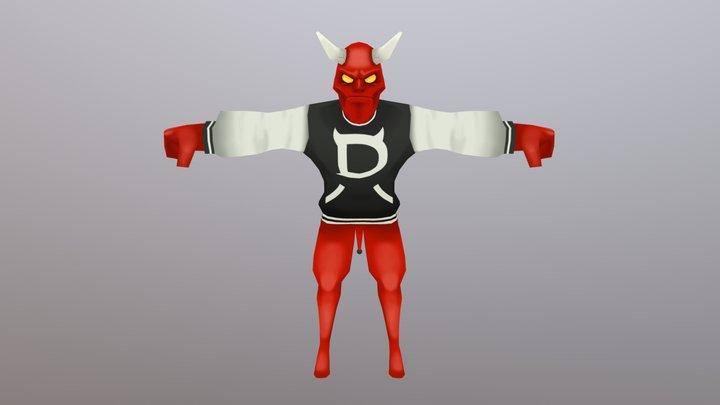 Demon Jock 3D Model