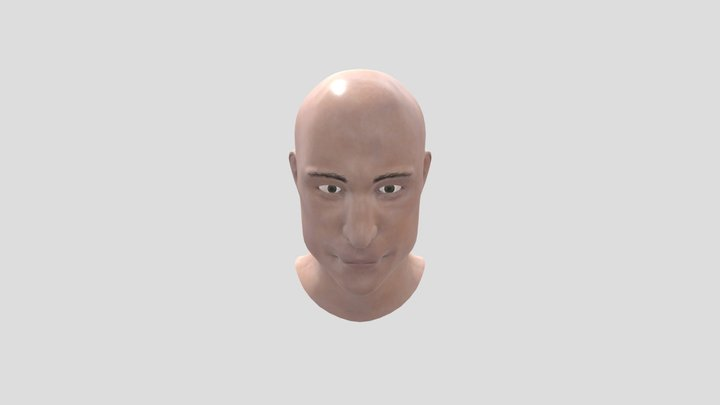Mark Strong - Advanced Game Characters 3D Model