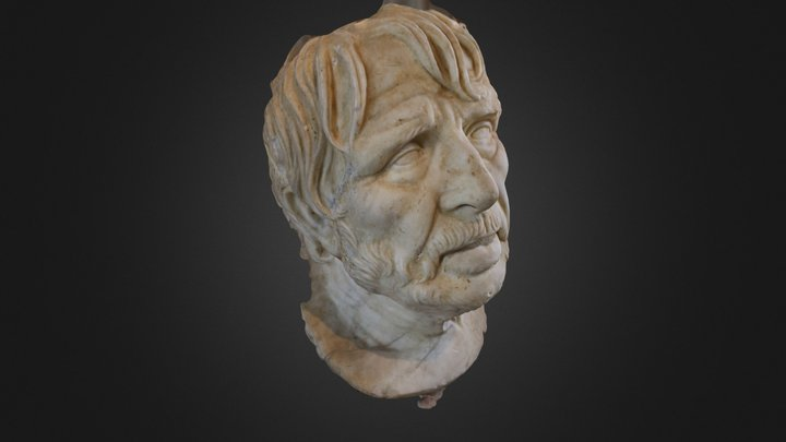 Louvre Pseudo-Seneca (VisualSFM) 3D Model