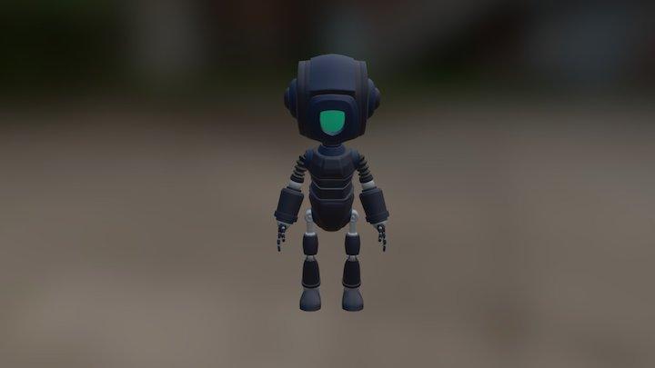 Minion Robot 3D Model