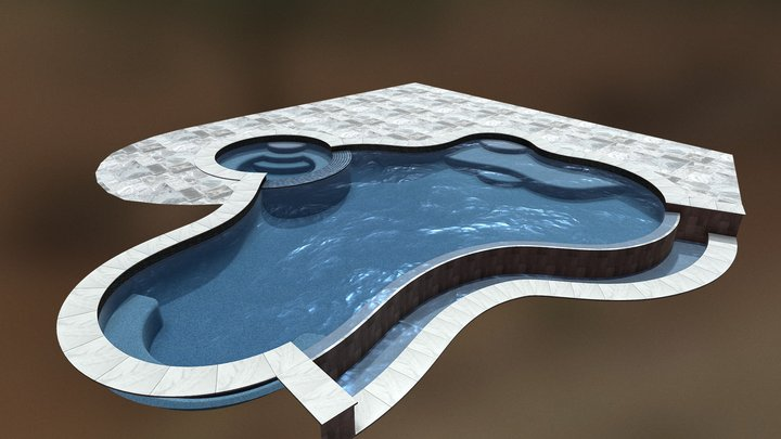 Dream Pool: Infinity - Annotated 3D Model