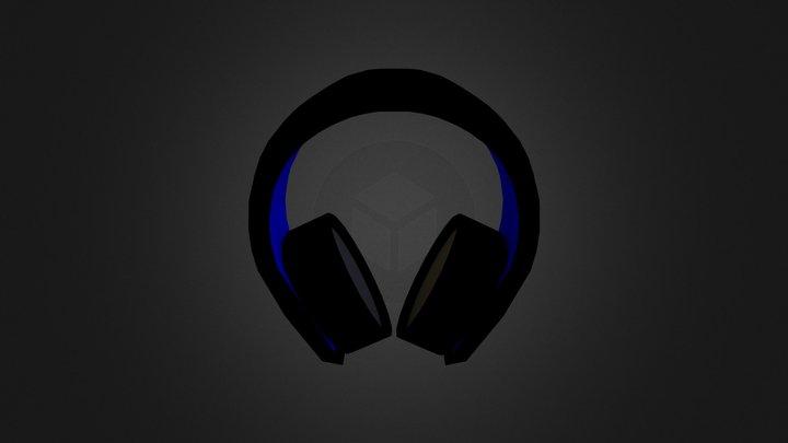 PlayStation Headset 3D Model