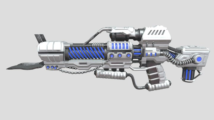 Hilmatix Plasma Gun 3D Model