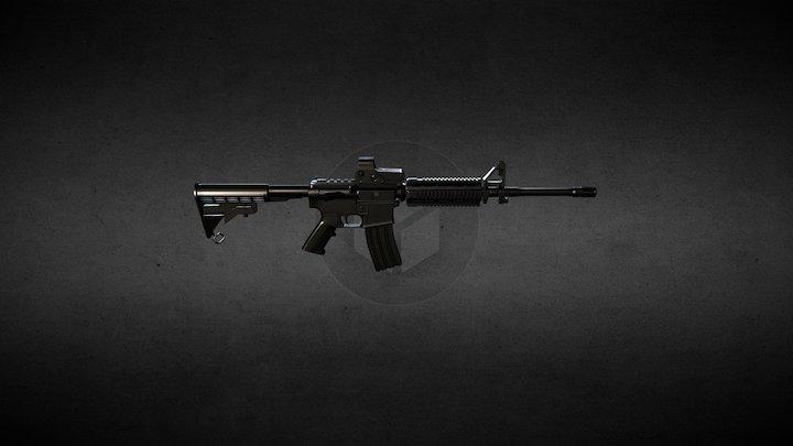 M4A1 Test 3D Model