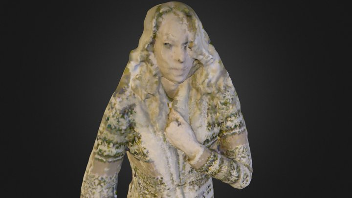 Audrey Colored Twelfth Scalewrl 620 K Polygons 3D Model