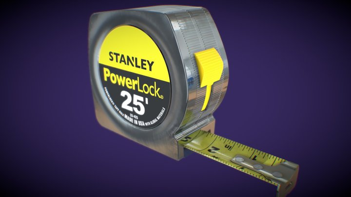 Tape Measure - Measuring Tape - in scale ;-) 3D Model