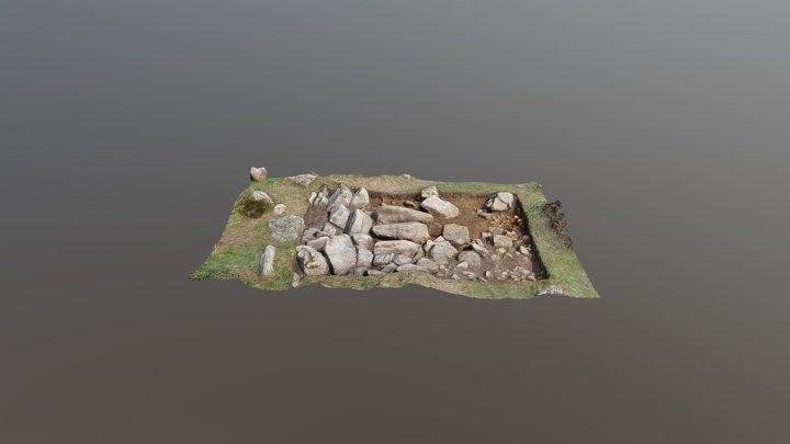 Llys Dorfil Trench 1 3D Model