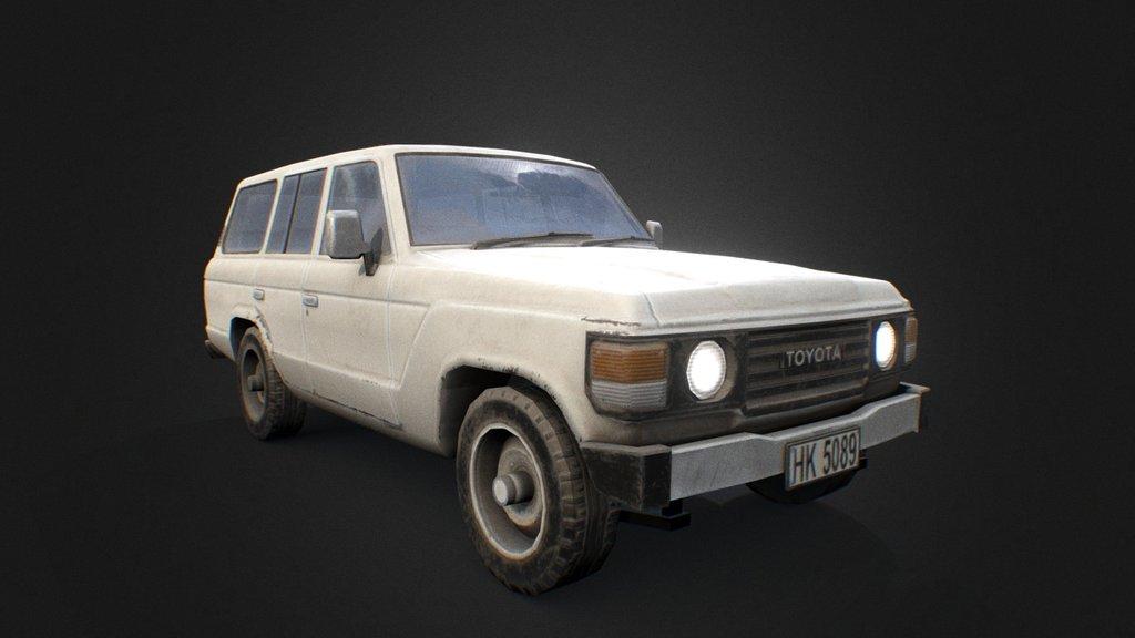 Toyota Land Cruiser - Download Free 3D model by Renafox