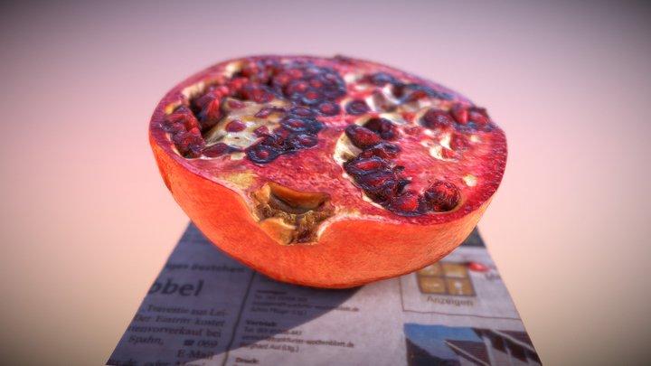 Granatapfel 3D Model
