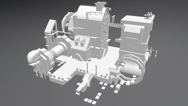 Tavern Enviro 3D Model